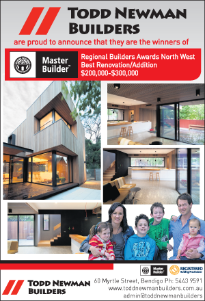 TNB win Regional Builders Awards North West Best Renovation Addition $200,000-$300,000